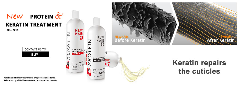 Newhair Brazilian keratin and hair protein treatment