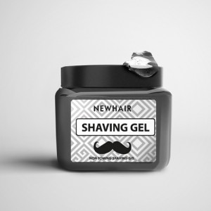 nhair newhair non foaming shaving gel for barber shop